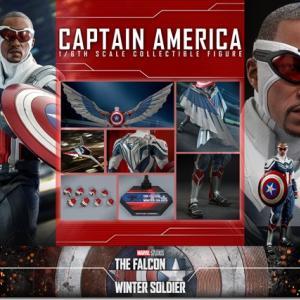 ホットトイズ ファルコン&ウィンターソルジャー キャプテンアメリカ 予約開始