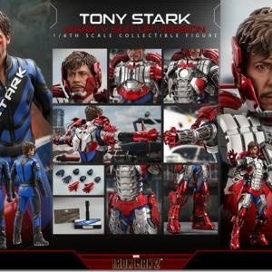 ホットトイズ トニー・スターク マーク5スーツアップ版 予約開始 20210515