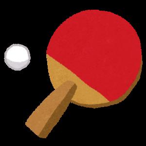 卓球混合ダブルス金メダル