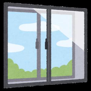 窓の○○をきれいにしたい/今日は清掃の日