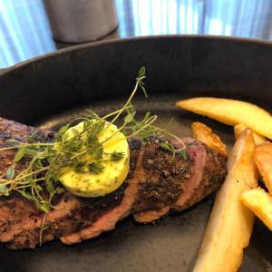 六本木泉ガーデンで安くて美味しいステーキ