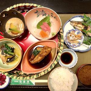 岐阜県池田町の白喜屋「夜のおまかせ定食」