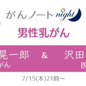 今月15日「がんノートNight」に出演!
