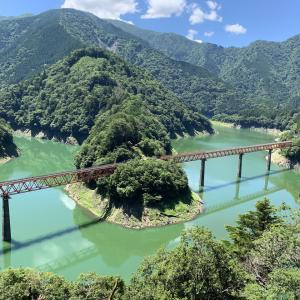 トーマスの旅⑤大井川鉄道井川線「奥大井湖上駅」