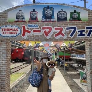 トーマスの旅②千頭駅「トーマスフェア」