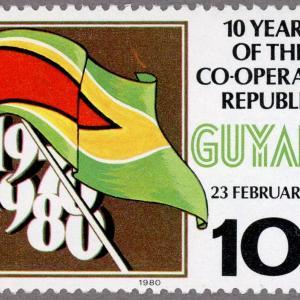 ガイアナ協同共和国50年
