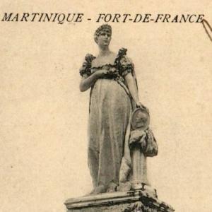 マルティニークのジョゼフィーヌ像破壊