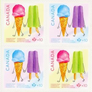 お菓子の切手:アンも驚嘆したプリンスエドワード島のアイスクリーム