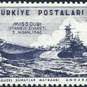 戦艦ミズーリの切手