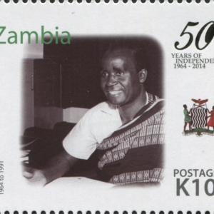 ザンビアの初代大統領、亡くなる