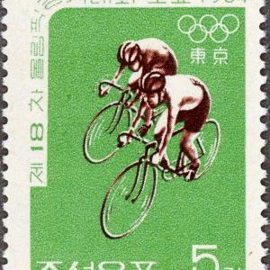 切手に見るソウルと韓国:1964年東京五輪㊤