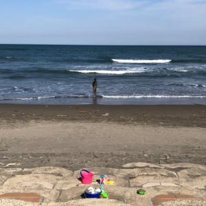 海に行ってきました〜。