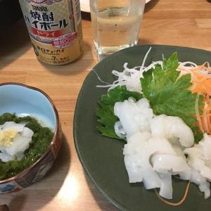 シリヤケイカ料理