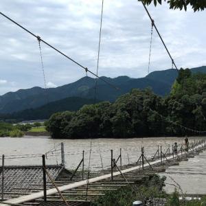 塩郷の吊り橋での思惑