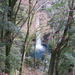 浄蓮の滝展望デッキ