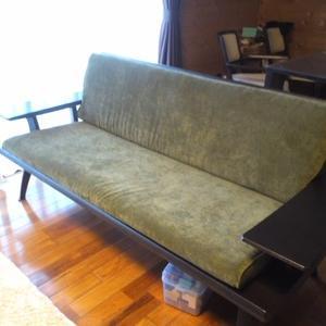 家具修理・・・長椅子張替