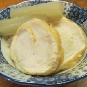 【旨魚料理】ヤリイカ信田巻きと独活の煮物