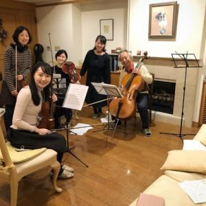 蘇州夜曲 と 弦楽四重奏