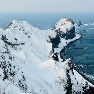 岬から望む