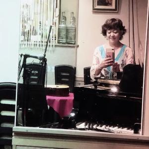 今夜は、銀座シャンソニエ  月夜の仔猫3651 弾き語りライブでした〜♪