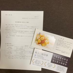 ツカダグローバルHD 株主優待 201912権利分