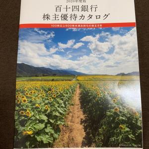 百十四銀行 株主優待カタログ到着 202003権利分
