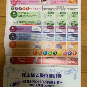 TOKAIホールディングス株主優待案内 202003権利分