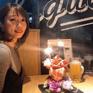 フォトジェ肉!お祝いプレートは肉パフェで☆贅沢和牛焼肉食べ放題