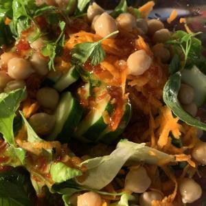 ひよこ豆とハーブのサラダ タイ風  糖質制限ダイエットメニュー  その4