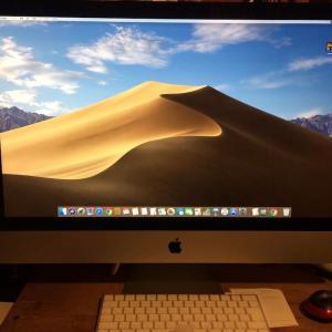 復活しました!新iMacで!