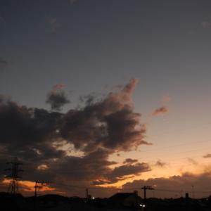 嵐の後(高積雲)
