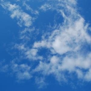 気持ちの良い青空(積雲)