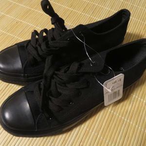 ズック靴。