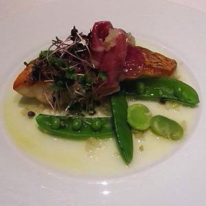 ORIGAMI 本日の魚料理シェフスタイル その1