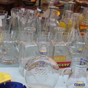 パスティスのおまけグラス