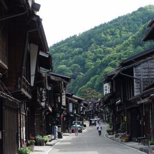 中山道の宿場町〝奈良井宿〟