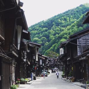 長野県は妻籠宿からスタート。