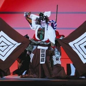 オリンピックの開会式の歌舞伎、私は好きでした♪
