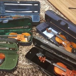 バイオリン選び