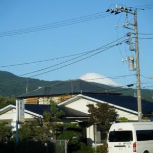 今日の富士山(2019.10.23)