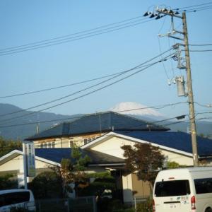 今日の富士山(2019.11.01)