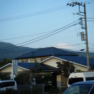 今日の富士山(2019.11.02)