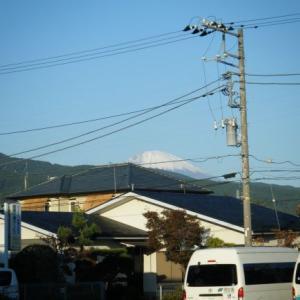 今日の富士山(2019.11.05)