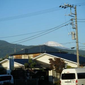 今日の富士山(2019.11.06)