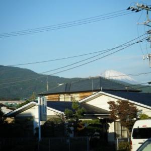 今日の富士山(2019.11.08)