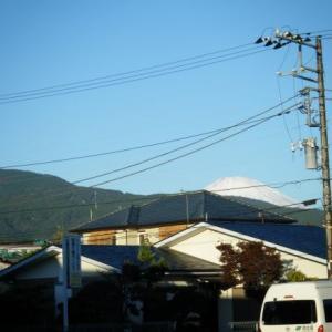 今日の富士山(2019.11.12)