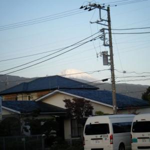 今日の富士山(2019.11.20)