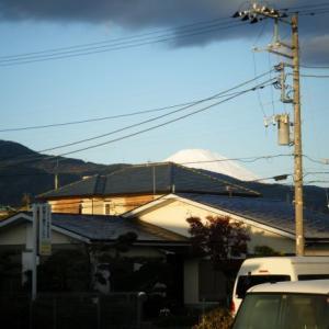 今日の富士山(2019.12.05)