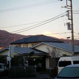 今日の富士山(2020.01.20)