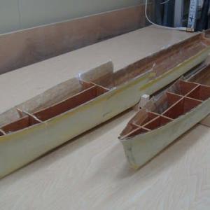 今日の製作メニューは 駆逐艦天津風の方で^^;